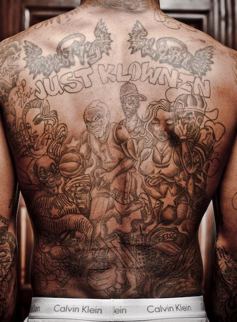 jr史密斯的霸气纹身全景秀