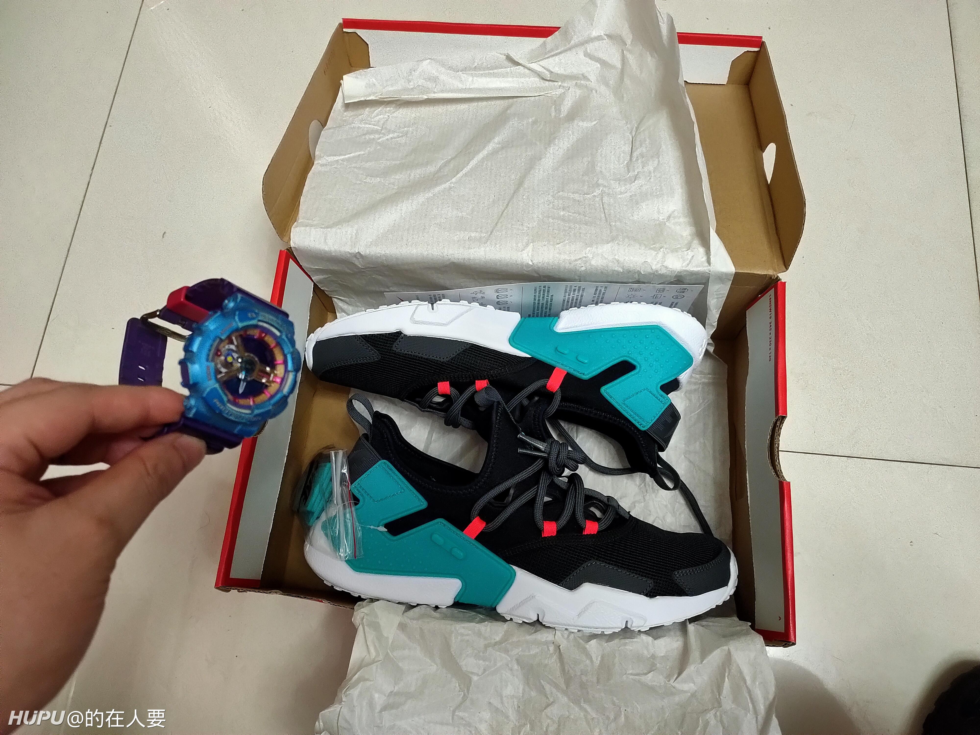 耐克Nike Air Huarache 19年新男子华莱士休闲跑鞋AO1133 003 南